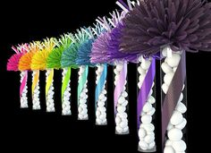 Party Favors and Centerpieces; Wedding Favors and Decorations for your Wedding Celebration