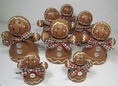 clay pot gingerbread crafts - Google Search