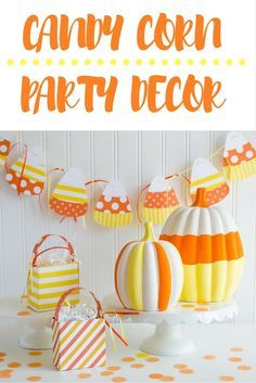 Candy Corn Crafts by