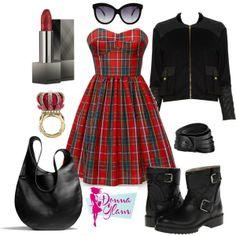 """Fashion Tartan"" by natalia-tagliaferri"