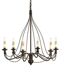 View the Currey and Company 9421 Trademark Chandelier  with Customizable Shades at LightingDirect.com.