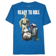 Boys 8-20 Star Wars Ready to Roll Tee, Boy's, Size: