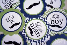 Oh boy Mustache Printable Party Collection by sprinkledwithpaper, $20.00