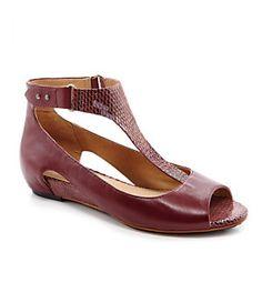 Tsubo Gerrisnake Wedge Sandals   Dillard's Mobile