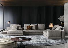 Minotti| interior design| exclusive| luxury| minimalistic|