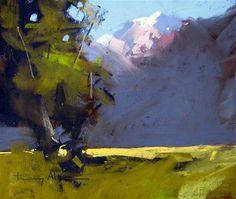 """Glenorchy, NZ"" - Original Fine Art for Sale - © Tony Allain"