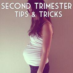 second trimester tips and tricks #secondtrimester #2ndtrimester #pregnancy