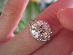 if you could pick ANYTHING (fantasy ring porn) « Weddingbee Boards - page 2 Beautiful Diamond Rings, I Love Jewelry, Jewelry Box, Butterfly Jewelry, Vintage Engagement Rings, Vintage Rings, European Cut Diamonds, Ring Earrings, Diamond Jewelry