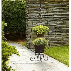 Village Green 174 4 Tier Metal Plant Stand At Big Lots