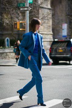 Anya Ziourova by STYLEDUMONDE Street Style Fashion Photography