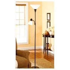 Tall Floor Lamp Reading Light Home Decor Bedroom Lighting Office Two Lamps New #Unbranded #Modern