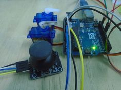 How to Control Servo Motors with an Arduino and Joystick https://diyhacking.com/how-to-control-servo-motors-with-an-arduino-and-joystick/?utm_campaign=crowdfire&utm_content=crowdfire&utm_medium=social&utm_source=pinterest