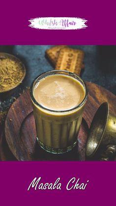 Easy Indian Dessert Recipes, Indian Food Recipes, Summer Drink Recipes, Tea Recipes, Masala Tea, Chai Recipe, 4 Ingredients, Food Dishes, Food Videos