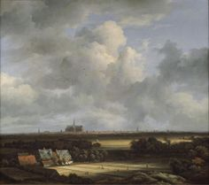 Ruisdael (1628-82), View of the Haarlem with Bleaching Grounds | The Frick Collection