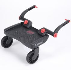 LASCAL Mini Buggy Board Universal Children/'s Toddler Ride Sur Buggyboard 3D Bleu