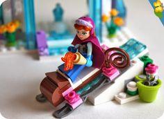 le palais de glace delsa la reine des neiges par lego disney