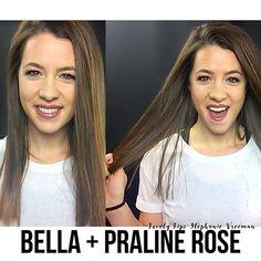 Lovely Lips: Stephanie Vreeman   Bella and Praline Rose LipSense