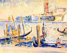 The Athenaeum - Venice (Paul Signac - )