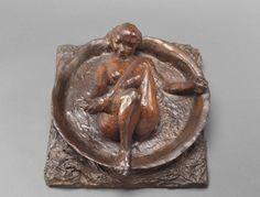 Edgar Degas, 'Woman in tub', bronze