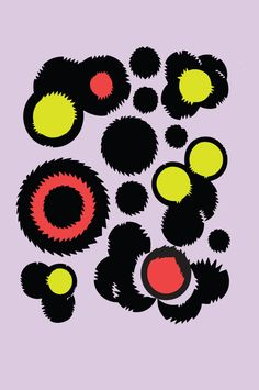 1stdibs | Christian Joy - Fuzzy Amoeba #2 Make with other colors.. Can be cool..