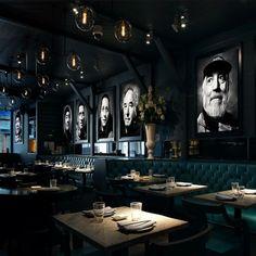 restaurant plan Black Roe, Casual Dining Global, I -