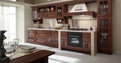 Per chi ama il calore della tradizione e il gusto dello stare in famiglia, una #cucina #rustica rende la casa più calda e accogliente.  SOFIA » www.cucinesse.it/cucine/sofia/
