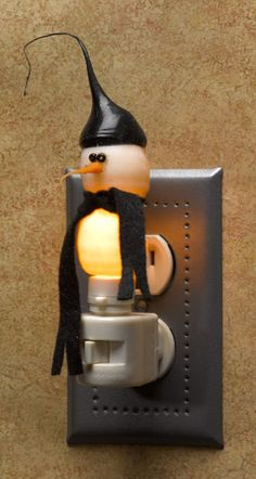 Double Dip Snowman Nightlight