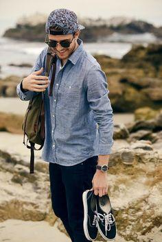 Macho Moda - Blog de Moda Masculina: Dicas de Looks Masculinos com Bonés, pra inspirar!