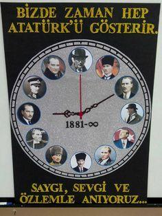 10 kasım pano örnekleri Sizlere bu yazımızda mustafa Kemal atatürk ve Türk bayraklı...
