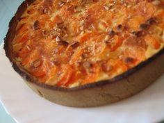Tarte carotte et noix de cajou