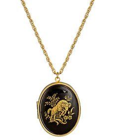 Privileged Zodiac Locket Necklace