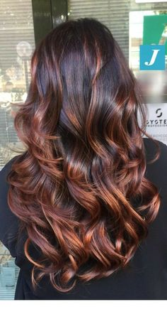 p/einzigartig-und-perfekt-degrade-joelle-cdj-degradejoelle-tagliopuntearia-degrad - The world's most private search engine Brown Hair Balayage, Hair Color Balayage, Ombre Hair, Copper Highlights On Brown Hair, Red Highlights In Brown Hair, Brown Auburn Hair, Copper Balayage, Auburn Highlights, Caramel Balayage