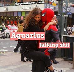 Notice that it is face to face Aquarius Pisces Cusp, Aquarius Traits, Aquarius Love, Aquarius Quotes, Aquarius Woman, Zodiac Signs Aquarius, Astrology Zodiac, Zodiac Memes, Zodiac Society
