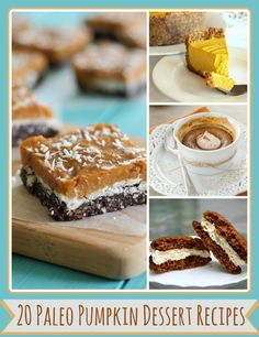 paleo pumpkin dessert recipes