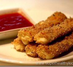 Crunchy Mozzarella Sticks Recipe