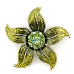 Antique Copper White Metal with Multi-Color Swarovski Crystal Brooch, Weight: 22.60gm - Flower . $14.85. Multi-Color Swarovski Crystals. Flower-Shaped. Antique Copper. Brooch. White Metal