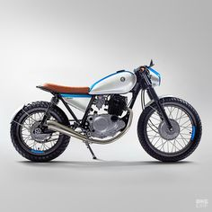 Did you think the images of this incredibly clean SR250 were renderings? I certainly did. It's just so impeccably put together (and shot) that you doubt human hands have ever touched it. But they have, and they were the hands of Slavo Danko and his son, Matus, from Slovakia's Free Spirit Motorcycles.