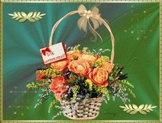 Szeretettel névnapodra Wreaths, Table Decorations, Home Decor, Room Decor, Garlands, Home Interior Design, Decoration Home, Floral Arrangements, Flower Garlands