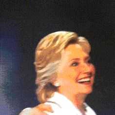 BEHOLD! The power of animation! Hillary Clinton