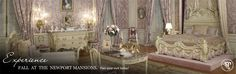 Newport Mansions | The Preservation Society of Newport County - I would love a bedroom like this