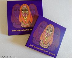 My Beauty Colors: THE SAHARAN II BY JUVIA´S: REVIEW Y SWATCHES