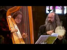 Arianna Savall - 'Tarantela' de Ribayaz (1677)  This is a beautiful piece - she's playing a double-strung harp.  Love the sound.