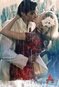 I've always thought kissing in the rain was incredibly romantic.