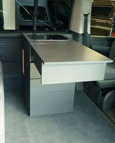 Tisch aufgebaut