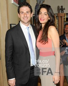 Jared Cohen, Amal Alamuddin at The Launch of LIMOLAND at JEAN PIGOZZI'S Home. #BFAnyc - Date: Tue, May 07 2013.