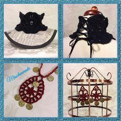 Cute and unique jewelry handmade by me!  http://www.ebay.de/usr/maschen-made http://maschenmade.dawanda.com http://etsy.com/de/shop/maschenmade  Follow me on Facebook:  http://www.facebook.com/maschenmade And Twitter