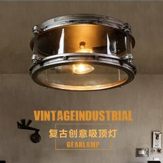The road can be retro ceiling lamps LOFT creative industrial wind Cafe Restauran | eBay