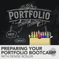 Online course: Preparing Your Portfolio Bootcamp