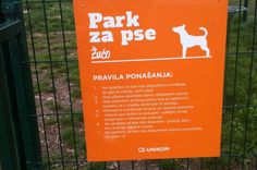 Pravila ponašanja u parku za pse
