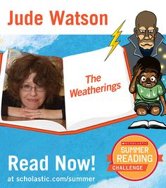 The third summer story is live on the Summer Reading Challenge website! Read The Weatherings, by Jude Watson. Kids will love this spooky story about a boy who suddenly finds himself in the future. Click through to read! scholastic.com/summer #summerreading
